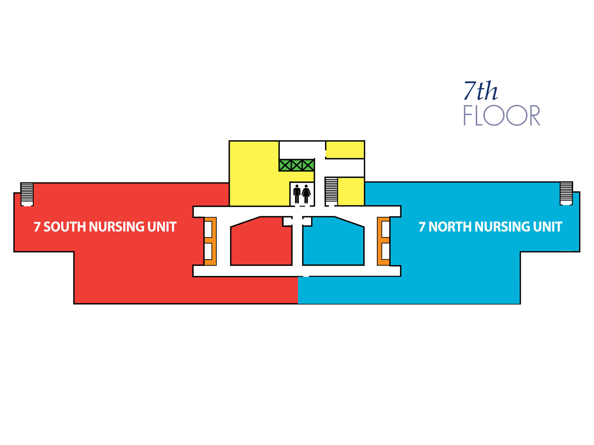 Seventh Floor Plan