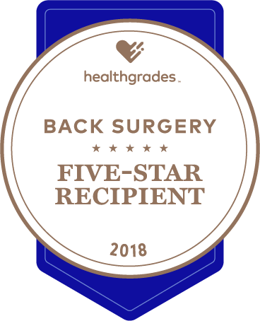 HG Five Star for Back Surgery Image 2018 Logo